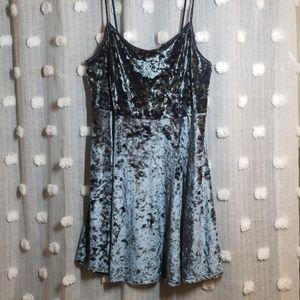 Forever 21 Dresses - Forever 21+ Velvet Skater Dress 90's 3XL